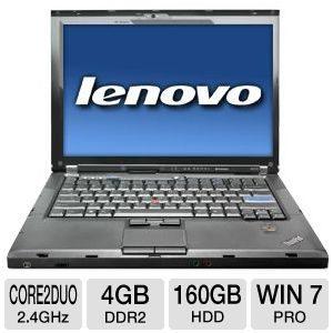 LENOVO R400 core2due 4GB 160GB 14.1